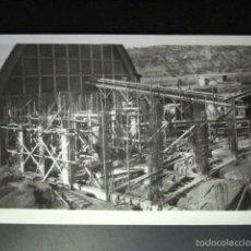 Postales: POSTAL FOTOGRÁFICA MINAS DE BALSARENY, BARCELONA. OBRAS DE LA NUEVA FÁBRICA. FOTO ROISIN. Lote 56946449