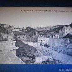 Postales: POSTAL - ESPAÑA - 102 BARCELONA - ESTACIÓN INFERIOR FONICULAR - MISSE Hº BARNA - NUEVA -. Lote 56962532