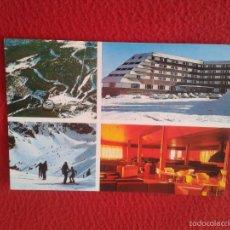 Postales: POSTAL POSTCARD GIRONA GERONA ALP-HOTEL A PIE DE PISTAS EN MASELLA ESTACION ESQUI VALLE CERDAÑA DAS . Lote 56979137