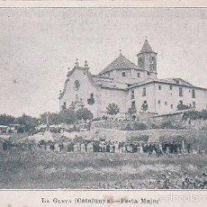 Postales: BUENA POSTAL DE LA GLEVA - OSONA VOLTREGÀ -N º 2988 DE LA HORMIGA DE ORO FESTA MAJOR. Lote 56987521