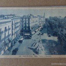 Postales: BARCELONA. Nº 110. PLAZA DEL TEATRO Y RAMBLAS. ROISIN.. Lote 57009473