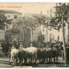 Cartes Postales: BARCELONA SAN CELONI PLAZA DEL GANADO FOTOTIPIA THOMAS. CIRCULADA. Lote 57022371