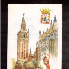 Postales: TARJETA POSTAL DE ESPAÑA SEVILLA. Lote 57089339