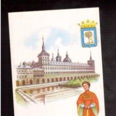 Postales: TARJETA POSTAL DE ESPAÑA EL ESCORIAL. Lote 57089412