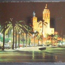 """Postales: (41646)POSTAL SIN CIRCULAR,""""PASEO DE LA RIBERA"""" (COSTA DORADA),SITGES,BARCELONA,CATALUÑA. Lote 57133096"""