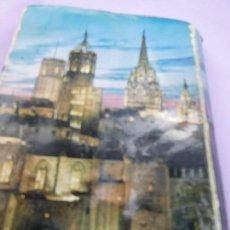 Postales: COLLAGE ANTIGUO DE FOTOS DE LA CIUDAD DE BARCELONA.. Lote 57126153