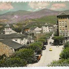 Postales: LLEIDA SEO DE URGEL AVENIDA GENERAL FRANCO FOTO JANOT. CIRCULADA. Lote 57239101