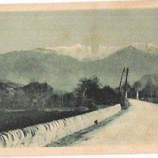 Postales: TARJETA POSTAL DE AU PAYS CATALAN. LE CANIGOU (2783 M.) VU DE VERNET LES BAINS.. Lote 57448429