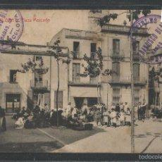 Postales: MALGRAT - 3 - PLAZA MERCADO- THOMAS -(43.750). Lote 57471774