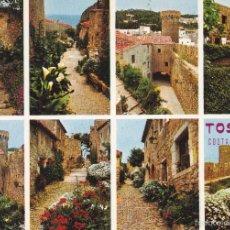 Cartoline: TOSSA DE MAR Nº 492 SECUENCIAS DE VILA VELLA SIN CIRCULAR FOTO CATALAN YBARZ. Lote 57529864