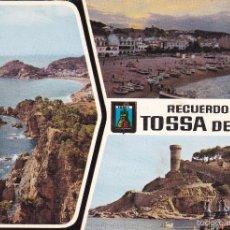 Cartoline: TOSSA DE MAR Nº 1249 DIERSOS ASPECTOS SIN CIRCULAR FOTO CEDAG S.L.. Lote 57529941