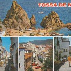 Cartoline: TOSSA DE MAR Nº GE 1745 M DIVERSAS VISTAS SIN CIRCULAR FOTO VERTICROM. Lote 57529969