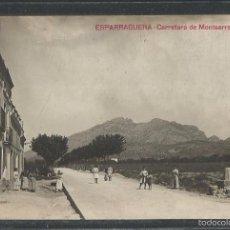 Postales: ESPARRAGUERA - CARRETERA DE MONTSERRAT - FOTOGRAFICA - VER REVERSO - (43.868). Lote 57648302