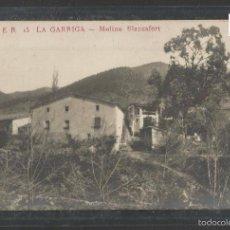 Postales: LA GARRIGA - ER 15 - MOLINO BLANCAFORT - FOTOGRAFICA - VER REVERSO - (43.881). Lote 57648772