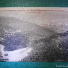 Postales: POSTAL - BARCELONA - 23 TIBIDABO - ALREDEDOR DE LA LINEA FUNICULAR - L. ROISÍN - SIN ESCRIBIR. Lote 57712414