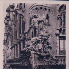 Postales: POSTAL FOTOG. BARCELONA 53.- ESQUINA DEL ORFEON CATALAN. CIRCULADA. VER REVERSO. ZERKOWITZ. Lote 57726594