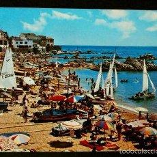 Postales: CALELLA DE PALAFRUGELL (GIRONA) Nº 1277 PLAYA (AÑOS 60) -ED. FABREGAT- COSTA BRAVA. Lote 57734667