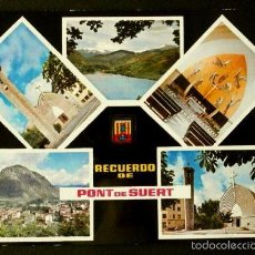 Postales: PONT DE SUERT (LLEIDA) Nº 1802 BONICS PAISATGESL (AÑOS 60) -ED. ESCUDO DE ORO - PIRINEO. Lote 57754439