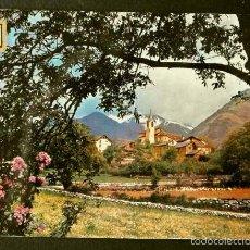 Postales: VALÈNCIA D' ÀNEU (LLEIDA) Nº 968 VISTA PARCIAL (AÑOS 60)-ED. SOBERANAS -PIRINEU CATALA-PIRINEO. Lote 57754942
