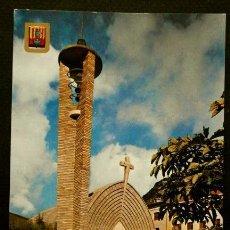 Postales: PONT DE SUERT (LLEIDA) Nº 956 ESGLESIA (AÑOS 60)-ED. SOBERANAS- PALLARS PIRINEU CATALA-PIRINEO. Lote 57755399