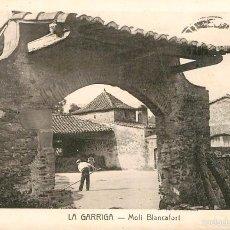 Postales: LA GARRIGA - MOLI BLANCAFORT - ROISIN. Lote 57758570