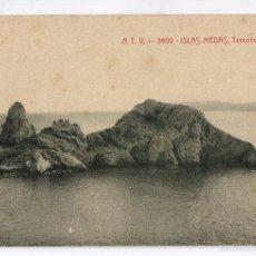 Postales: ESTARTIT - ISLAS MEDAS - TASCONS GROSSOS - ATV Nº2400. Lote 57798796
