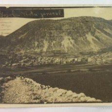 Postales: GOSOL. VISTA GENERAL. POSTAL FOTOGRÁFICA. CIRCULADA EN 1928. . Lote 57846712
