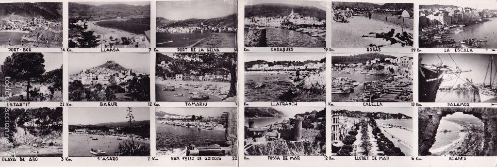 POSTAL DOBLE GIRONA (VER FOTO ADICIONAL) (Postales - España - Cataluña Moderna (desde 1940))