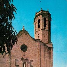 Cartoline: M01882 SANT BOI DE LLOBREGAT - IGLESIA PARROQUIAL 1965 - Nº102 - RENAULT ALPINE. Lote 57916359