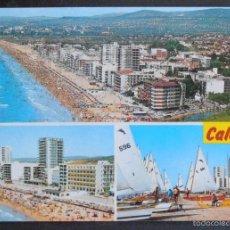 Postales: (42986)POSTAL ESCRITA,VISTA AÉREA,CALAFELL,TARRAGONA,CATALUÑA. Lote 57935370