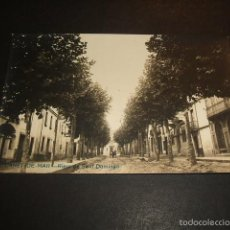 Postales: CANET DE MAR BARCELONA RIERA DE SANT DOMINGO POSTAL FOTOGRAFICA RARA. Lote 57957871