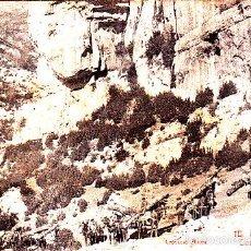 Postales: MUY BUENA POSTAL DE MONTGRONY - RIPOLL - CAMI DE S. TOU - COLE AMOC 1911 - LEÑADORES CON SUS MULOS. Lote 57971820