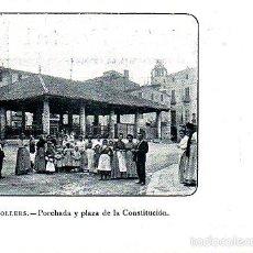 Postales: MUY BUENA POSTAL DE GRANOLLERS PORCHADA Y PLAZA CONTITUCION - Nº 149 DE MAURI GERONA. Lote 57973713
