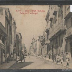 Postales: PALAFRUGELL - ATV 3535 - CALLE DEPI Y MARGALL - VER REVERSO - (43.986). Lote 57993952