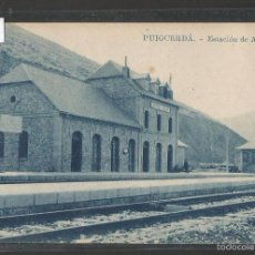 Postales: PUICGERDA- ESTACION DE ALP - FERROCARRIL -THOMAS - VER REVERSO- (43.999). Lote 57994508
