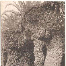Postales: BARCELONA PARK GUELL PORTICOS. Lote 58077618