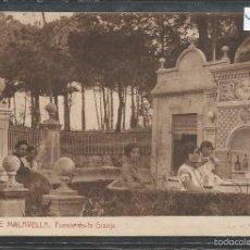 Postales: CALDAS DE MALAVELLA -FUENTE DE LA GRANJA - THOMAS - VER REVERSO - (44.444). Lote 58138490