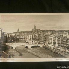Postales: POSTAL GERONA. VISTA PARCIAL. LABORATORIO S. MARTI. Lote 58189089