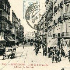 Postales: BARCELONA - CALLE DE FONTANELLA - ROISIN Nº205. Lote 58213213