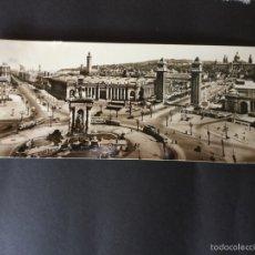 Postales: POSTAL SUPERPANORAMICA DE BARCELONA - ZERKOWITZ. Lote 58333571