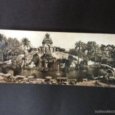 Postales: POSTAL SUPERPANORAMICA DE BARCELONA - ZERKOWITZ. Lote 58333445