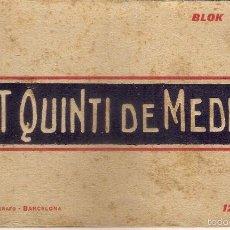 BLOCK DE 12 POSTALES DE SANT QUINTI DE MEDIONA .