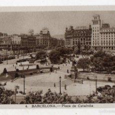Postales: BARCELONA. PLAZA DE CATALUÑA.. Lote 58407987