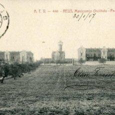 Postales: REUS - MANICOMIO (INSTITUTO PEDRO MATA) - ATV Nº441 - DOMENECH I MONTANER. Lote 58416615
