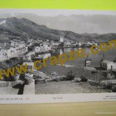 Postales: PORT DE LA SELVA: LA LLOIA - LLENSA - POSTAL ORIGINAL. Lote 58423294
