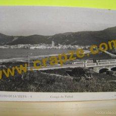 Postales: PUERTO DE LA SELVA: CAMPO DE FUTBOL - LLENSA - POSTAL ORIGINAL (PORT). Lote 58423309