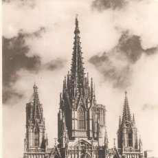 Postales: BARCELONA, LA CATEDRAL, ZERKOWITZ, CIRCULADA CON DOS SELLOS. Lote 58453633