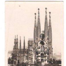Postales: BARCELONA, TEMPLO SAGRADA FAMILIA, ORIOL, CIRCULADA. Lote 58471786