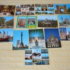 Postales: LOTE 14 POSTALES BARCELONA - MUY BUEN ESTADO - SIN CIRCULAR - KOLORHAM - ESCUDO DE ORO - PERLA. Lote 58538326