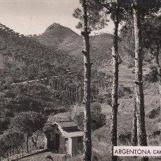 Postales: POSTAL FOTOGRÁFICA ARGENTONA -CAMINO DE BURRIACH FOTO A. GÜELL. Lote 58553017